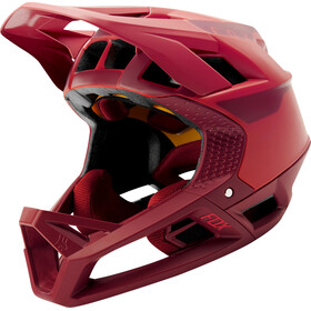 Fox Proframe Quo Helmet Men, bright red